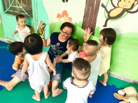 'Người tiếp sức' cho trẻ khuyết tật Thị Nghè