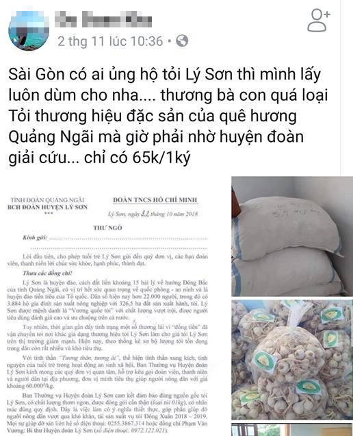 Hang tram tan toi Ly Son nam cho 'giai cuu'