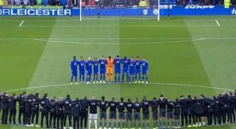 Vụ rơi trực thăng Leicester: Các cầu thủ rớt nước mắt khi mặc niệm tỷ phú Vichai