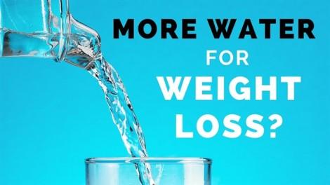 Tăng cân chỉ vì không uống đủ nước