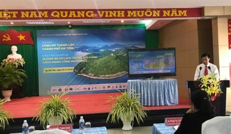 Thị xã Hà Tiên chính thức trở thành Thành phố Hà Tiên