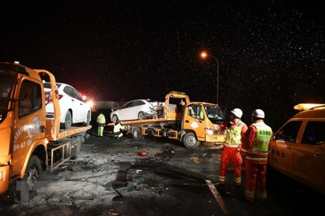 Tai nạn giao thông thảm khốc tại Trung Quốc, hàng chục người chết và bị thương