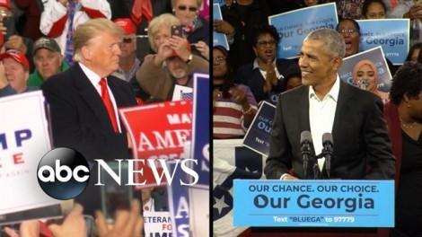 Bầu cử giữa nhiệm kỳ ở Mỹ: Cuộc đua kịch tính của ông Trump và ông Obama?