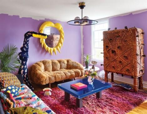 'Choáng' với ngôi nhà mang phong cách trang trí điên rồ ở Anh