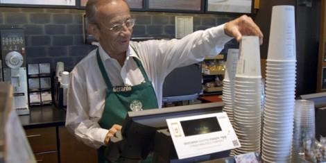 Quán cà phê được phục vụ bởi những người cao tuổi
