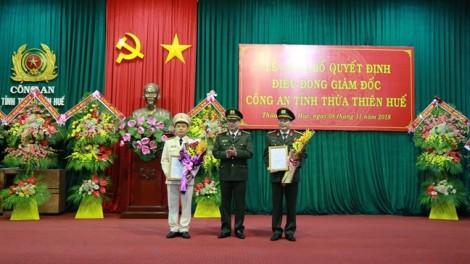 Phó tư lệnh Bộ tư lệnh CSCĐ làm Giám đốc Công an tỉnh Thừa Thiên - Huế