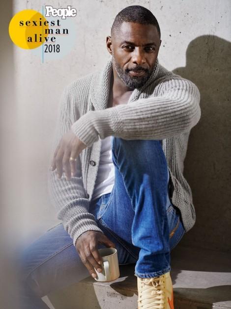 Cận cảnh vẻ mê hoặc của 'Người đàn ông quyến rũ nhất thế giới' Idris Elba