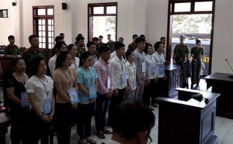 Toà bác kháng cáo của 15 bị cáo gây rối trật tự công cộng tại Đồng Nai
