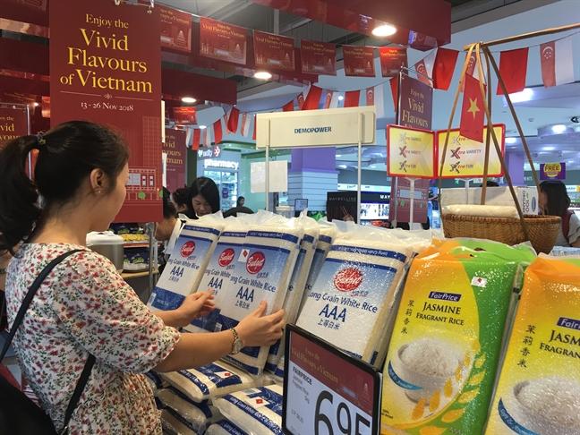 Dac san Viet Nam thu hut nguoi tieu dung Singapore