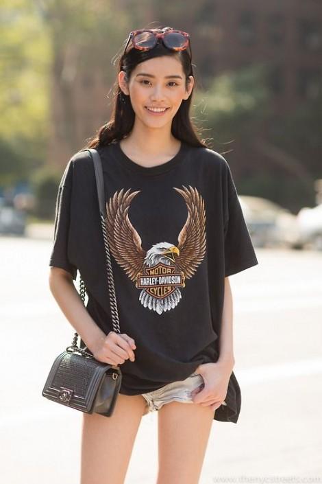 Ming Xi – 'thiên thần nội y' mang phong cách thời trang tối giản