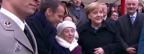 Bà cụ 100 tuổi nhầm Tổng thống Pháp và Thủ tướng Đức là vợ chồng