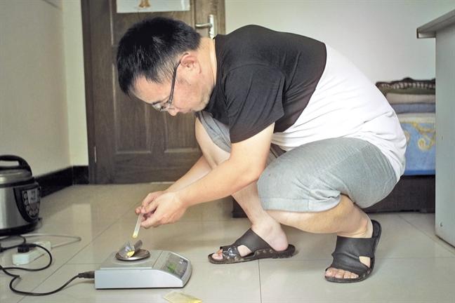 Trung Quoc: Goc khuat nhung 'xuong' bao che thuoc tai gia