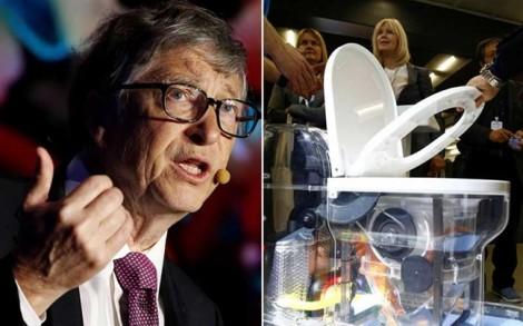 Bồn cầu của Bill Gates giúp thế giới tiết kiệm hàng trăm tỷ USD