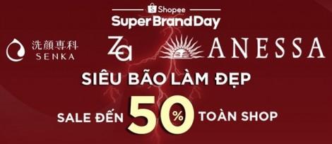 Ngày 15/11, người tiêu dùng có 24 giờ nhận ưu đãi hấp dẫn từ Shiseido C&PC và Shopee
