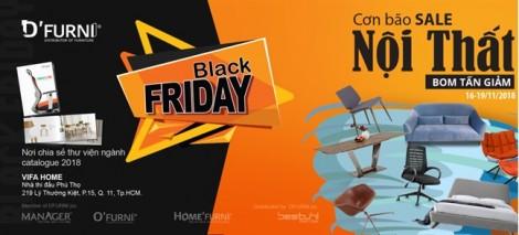 BLACK FRIDAY - HOME'FURNI: đón nội thất lung linh với giá hạt dẻ