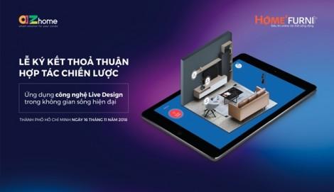HOME'FURNI - AZhome và cú 'bắt tay' đưa công nghệ 4D vào thiết kế nội thất