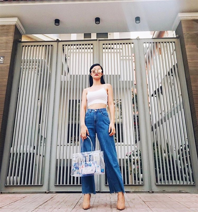 Street style phong khoang cua cac my nhan Viet tai Sai thanh