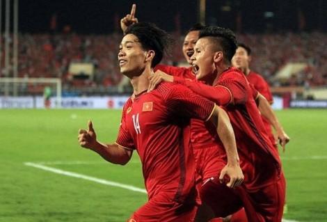 Đội tuyển Việt Nam đá bại Malaysia với tỷ số 2 - 0