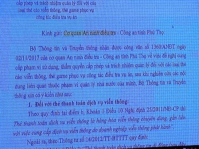 Bo nganh nao quan ly the thanh toan vien thong trong vu danh bac nghin ty?