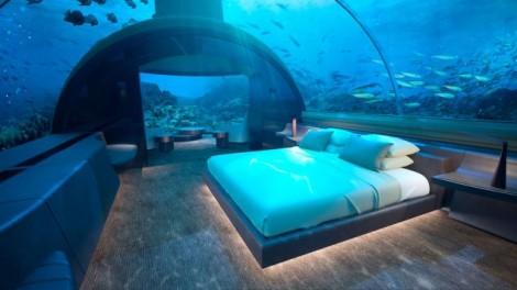 Phòng khách sạn dưới biển 'móc ví' khách 200 ngàn USD