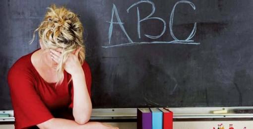 Giáo viên cũng kiệt sức trên bục giảng