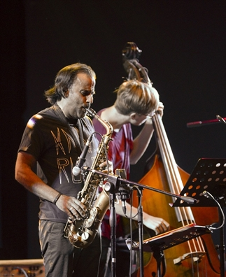 Nghe sy saxophone David Binney: 'Am nhac khong co gioi han'