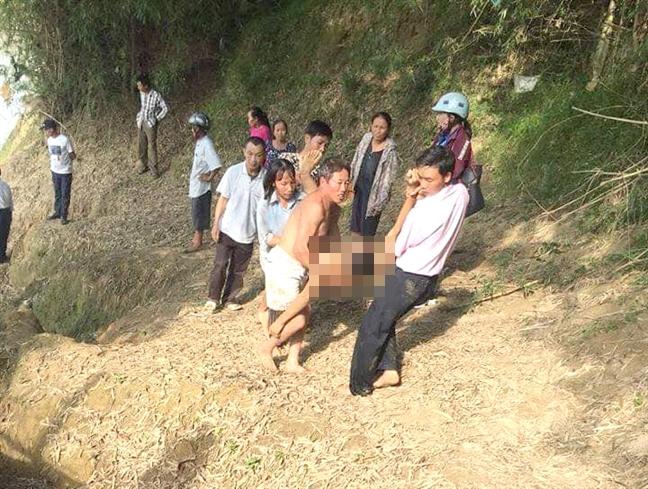 Ba nam sinh lop 9 bi nuoc cuon troi thuong tam khi tam song