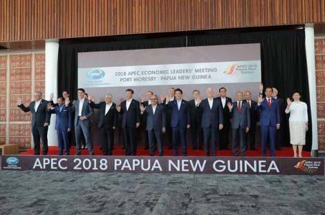 Căng thẳng Mỹ-Trung 'phá vỡ' đồng thuận Hội nghị Cấp cao AEC 2018