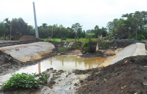 TP.HCM: Phát hiện công trình xây khu dân cư lấn chiếm kênh rạch