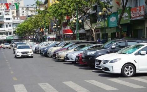TP.HCM: 3 tháng thu phí sử dụng lòng đường đỗ xe ô tô chỉ đạt 1,3% so dự kiến