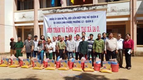 Quận 8: Trao 600 phần quà cho đồng bào nghèo ở Gia Lai