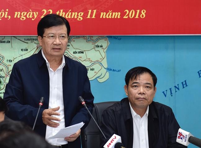 Pho Thu tuong Trinh Dinh Dung: Khong chu quan voi con bao so 9