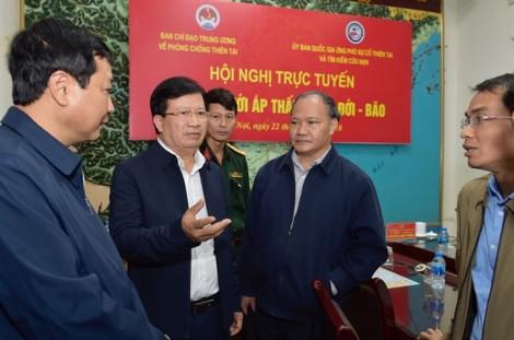 Phó Thủ tướng Trịnh Đình Dũng: Không chủ quan với cơn bão số 9