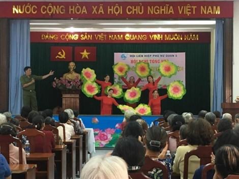 Hội Mẹ truyền thống: Nhiều đóng góp cho phong trào phụ nữ ở quận 5
