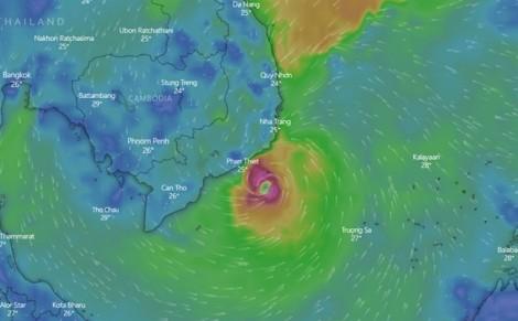Đông Nam bộ đối diện nguy cơ lốc xoáy, TP.HCM sẽ có mưa rất to