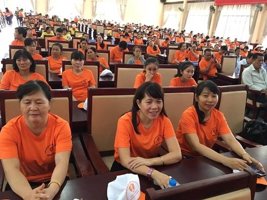 Huyen Cu Chi: Phat dong Thang hanh dong vi binh dang gioi va phong, chong bao luc tren co so gioi