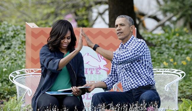Michelle Obama dap tra 40 cau hoi ve cuoc song ca nhan