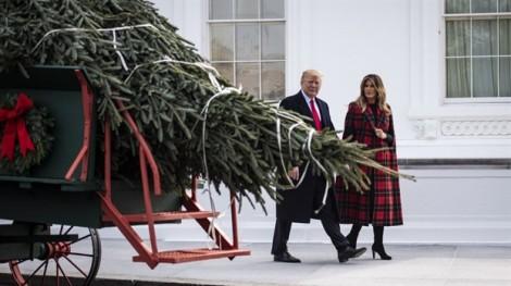 Melania Trump chọn chủ đề ái quốc để trang hoàng Nhà Trắng Giáng sinh 2018