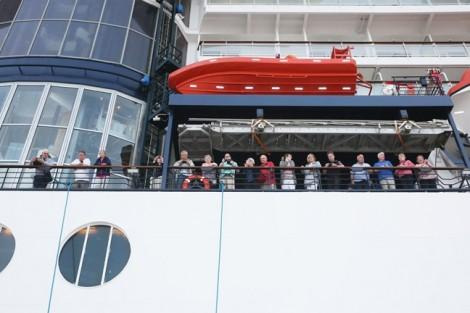 Cảng hành khách du lịch quốc tế Hạ Long đón chuyến tàu 5 sao đầu tiên