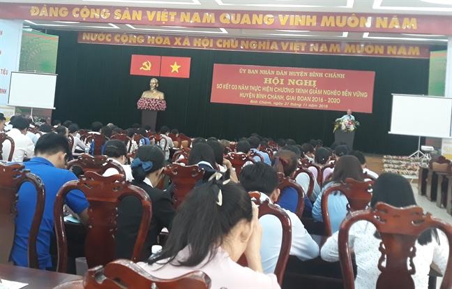 Binh Chanh: Keo giam ho ngheo xuong con 0,31%
