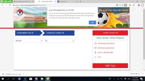 Bức xúc vì không mua được vé trận bán kết Việt Nam - Philippines