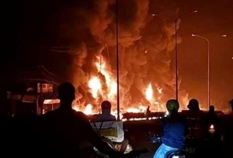 Khởi tố vụ án lật xe bồn gây cháy nổ khiến 6 người thiệt mạng ở Bình Phước