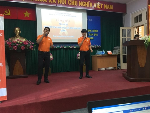 Quan 1: Ra mat them mot CLB Nam gioi tien phong thuc day binh dang gioi