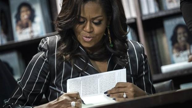 Hoi ky cua cuu De nhat phu nhan Michelle Obama lap ky luc sau 15 ngay len ke