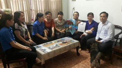 Huyện Củ Chi: Đón mừng các công dân mới chào đời