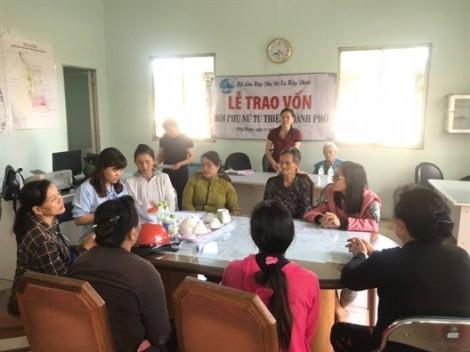 Huyện Nhà Bè: Thêm 21 phụ nữ nghèo được trợ vốn làm kinh tế gia đình