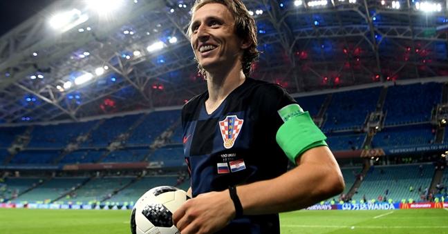 Luka Modric: Qua bong vang may man nhat hanh tinh