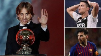 Luka Modric: Quả bóng vàng may mắn nhất hành tinh