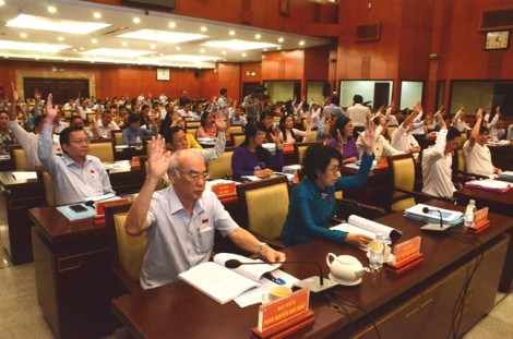 Thông qua danh sách 30 lãnh đạo TP.HCM được lấy phiếu tín nhiệm