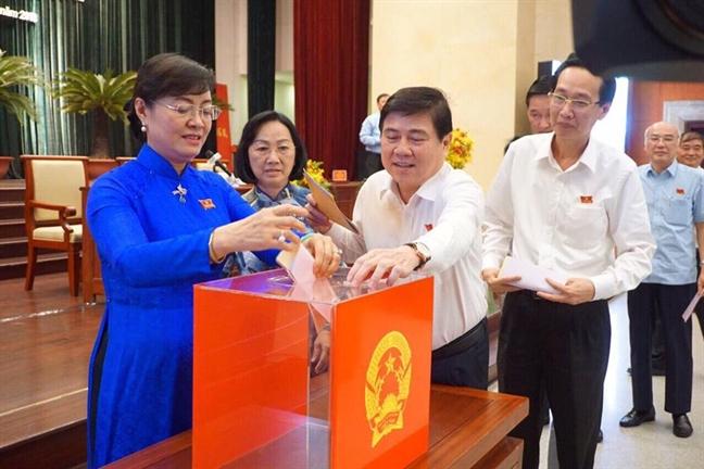 Pho Chu tich HDND TP.HCM Truong Thi Anh co so phieu tin nhiem cao nhat